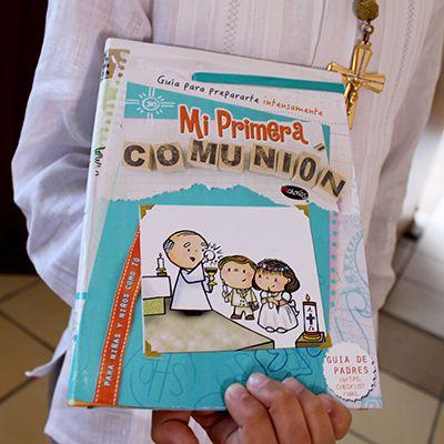 Mi primera comunion libro Aprende a Rezar Artículos religiosos Fechorias para catequistas, colegios e iglesia católica y recuerdos para Bautizos y primera comunión